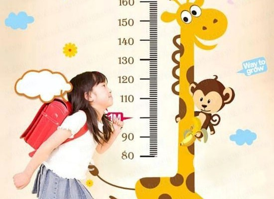 Bảng chiều cao cân nặng của trẻ theo WHO