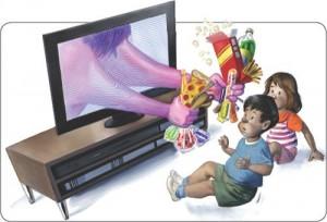 Tác hại của việc xem truyền hình