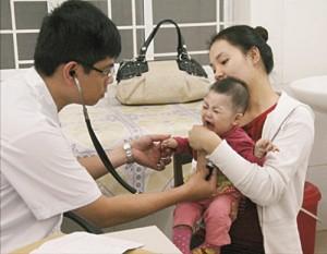 các biểu hiên Viêm đường hô hấp cấp ở trẻ em