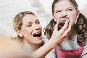 Dinh dưỡng cho con, chế độ ăn cho trẻ