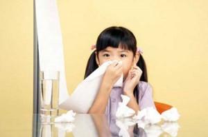 viêm mũi ở trẻ nhỏ
