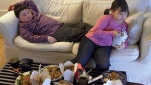Trẻ béo phì, trẻ lười vận động, phòng chống béo phì, giảm cân cho trẻ béo phì