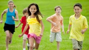 Trẻ vận động, phòng chống béo phì