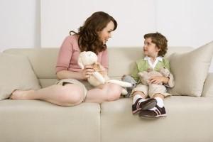 Giải thích vấn đề cho con trẻ, Khích lệ và tin tưởng con sửa đổi được vấn đề,