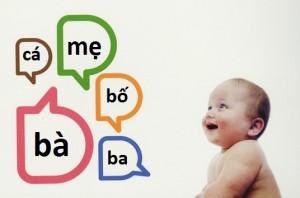 tập nói cho bé, dạy con tập nói