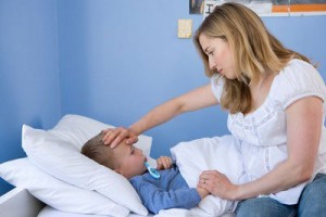 trẻ bị viêm họng cấp, phòng ho cho trẻ