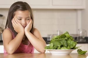 các món rau cho bé, thức ăn cho bé