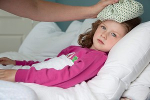 tre sot vi rut, biểu hiện sốt virus ở trẻ
