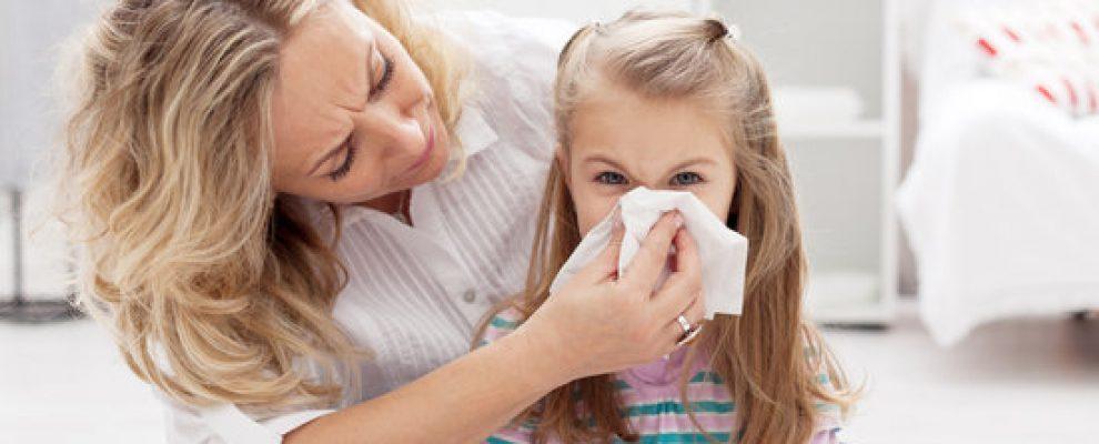 trẻ viêm mũi, viêm mũi ở trẻ nhỏ
